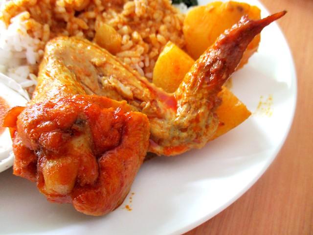 Liza Cafe chicken curry