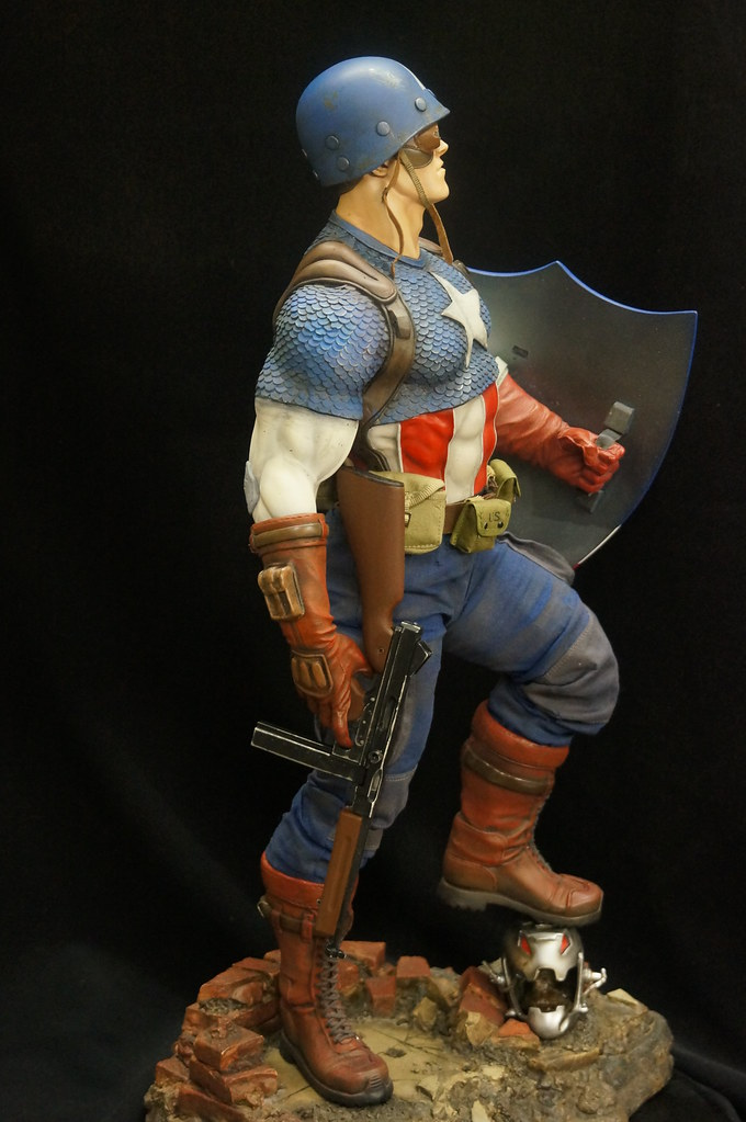 Custom Captain America Premium Format  24398272813_10c248e48b_b