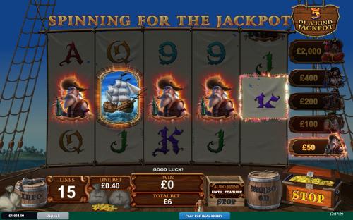 free Fortunate 5 slot bonus game