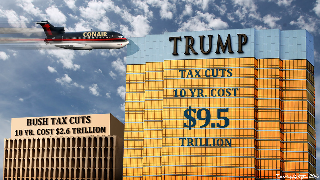 Trump Tax Cuts Will Cause Deficits 3 Times Bigger Than Bus ...