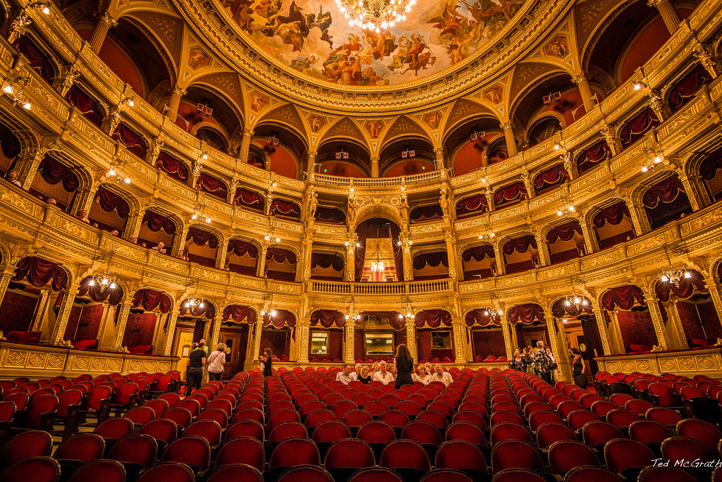 Hungarian State Opera House. Credit Ted McGrath, flickr