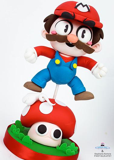 Mario Bros. cake by Nerdache Cakes
