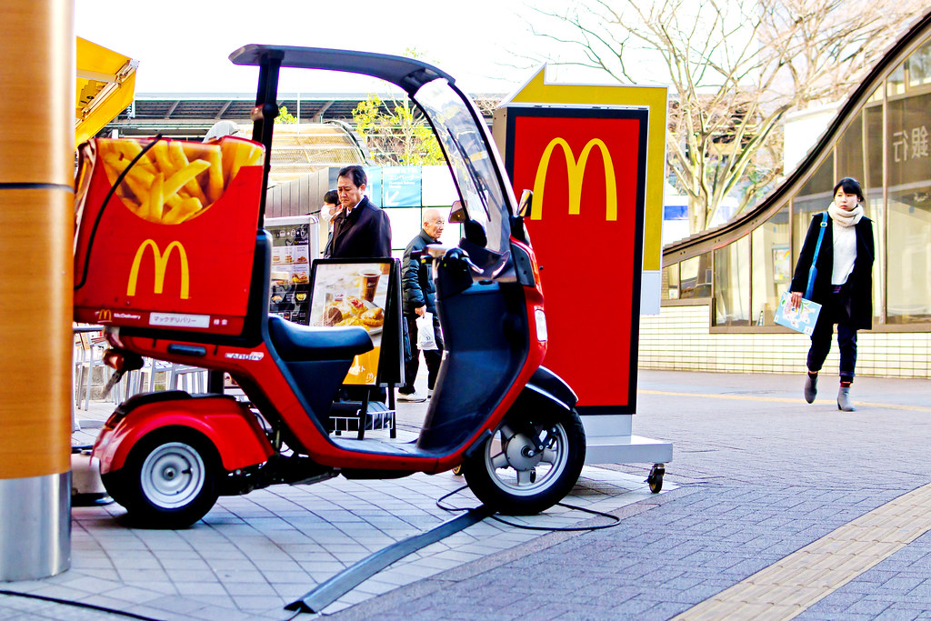 mcdonald s delivery process Service delivery process mcdonald's came up with a very catchy punch line simplifying flowers and gifts delivery process by flower delivery by.