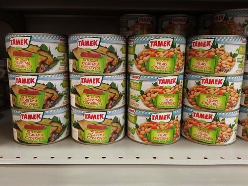 Tamek Canned Goods from Turkey