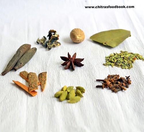 Biryani Spices List, Names, Pictures, Health Benefits