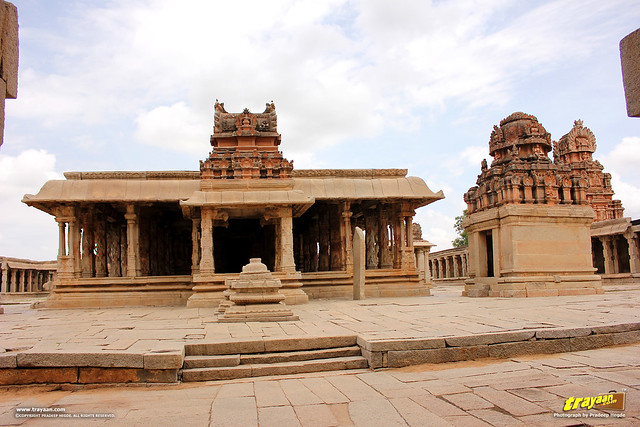 Krishna temple in Hampi, Ballari district, Karnataka, India