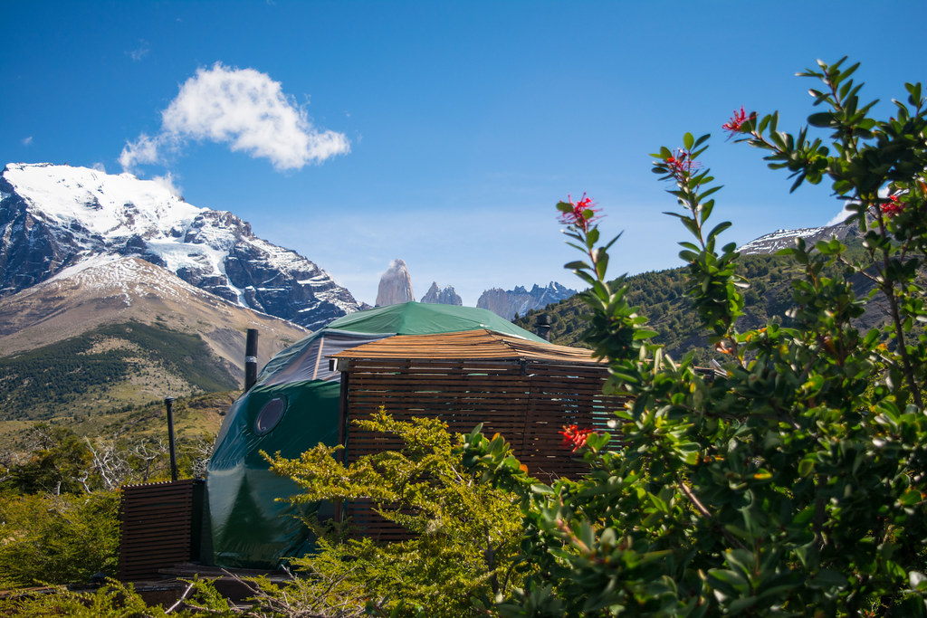 My Suite dome in the heart of Torres del Paine.