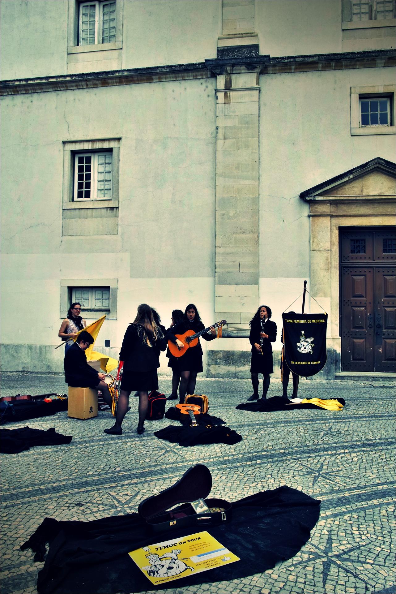 학생 연주자들 -'코임브라 Coimbra'
