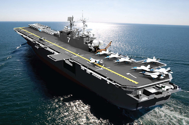 PASCAGOULA, Miss. (NNS) -- The keel laying and authentication ceremony for the amphibious assault ship, the future USS Tripoli (LHA 7) was held at the Huntington Ingalls Industries Pascagoula shipyard June 20.
