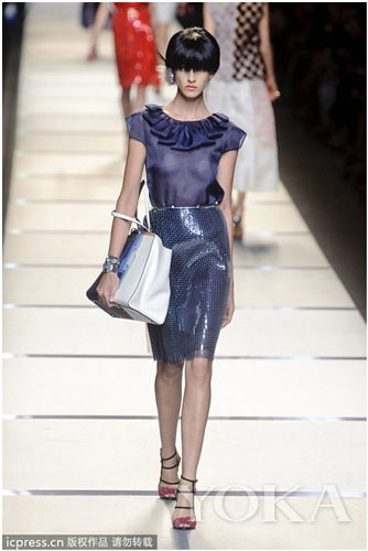 FENDI wedding light colours in spring and summer seasons