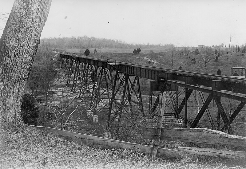 Monon High Bridge, Delphi -Gerard Collection, Delphi Prese… | Flickr