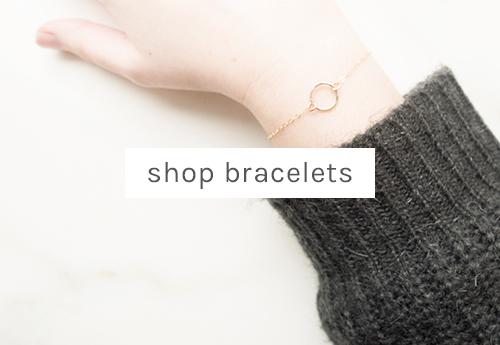 shop minimal bracelets