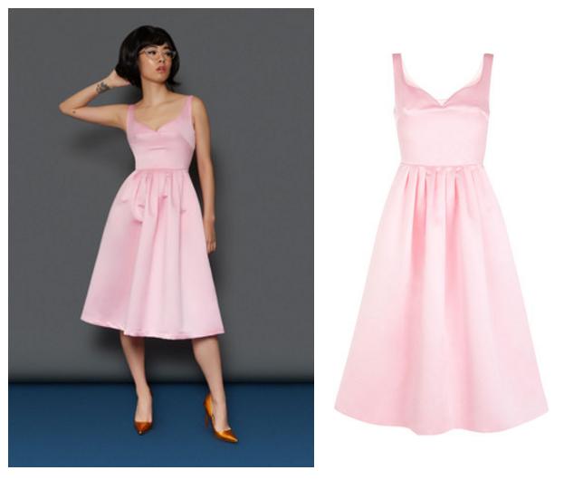 tara starlet pink dress