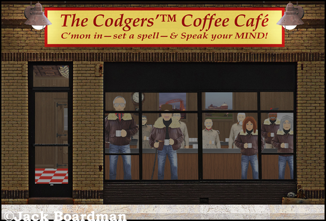 The grand opening of The Codgers'™ Coffee Café ©Jack Boardman