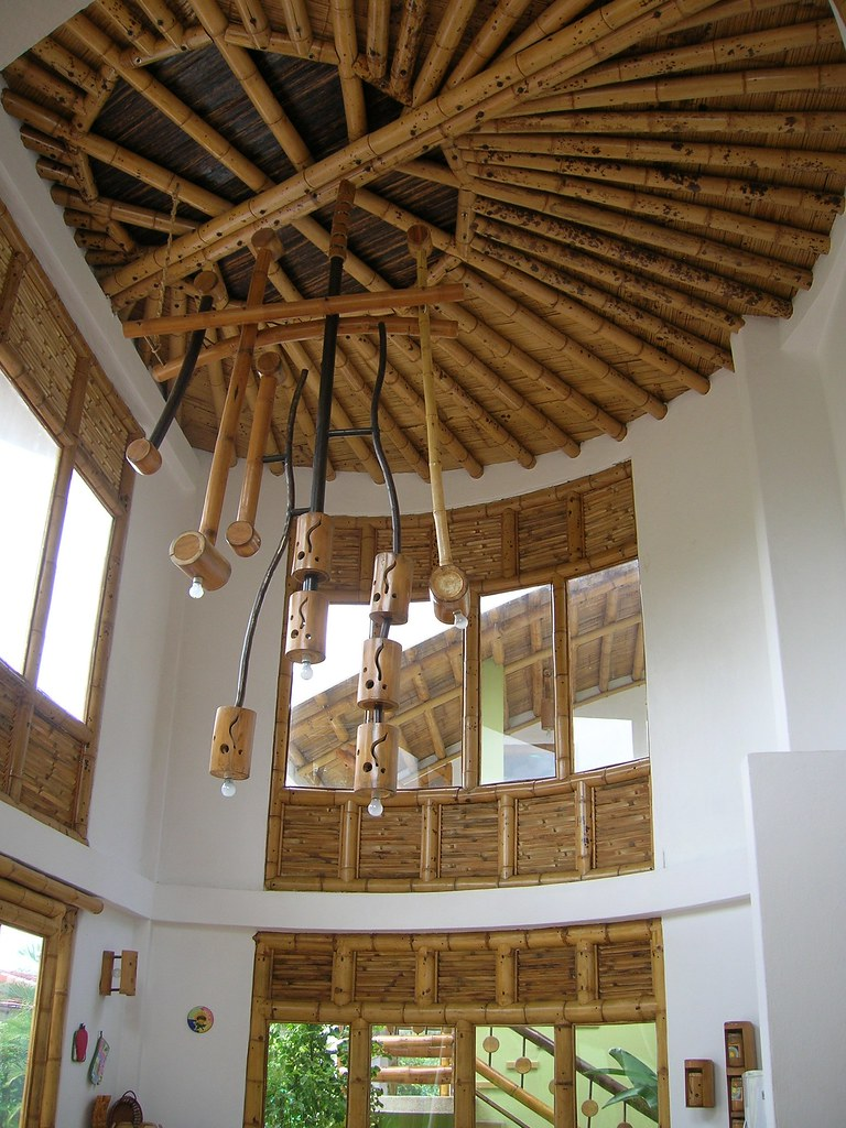 Decoraci n con bamb guadua decoraci n de espacios por for Decoracion de interiores bogota