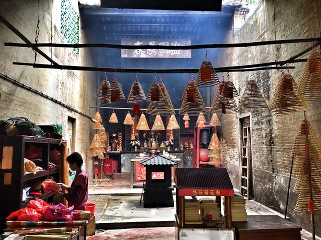 Templo taoísta en Macao