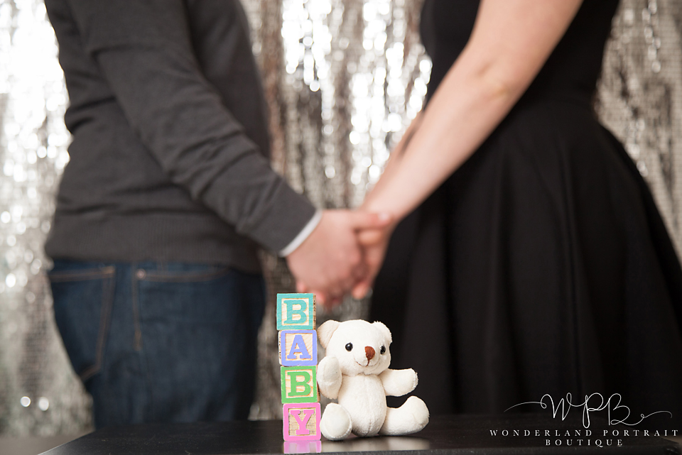 Holland PA BABY Photographer  New Years Baby Announcement