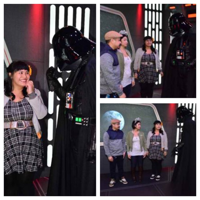 le fancy geek her universe hot topic bb-8 jacket star wars darth vader disneyland season of the force geek fashion