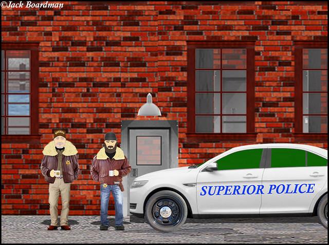 Superior PD Drop off Boomer and AJ ©Jack Boardman