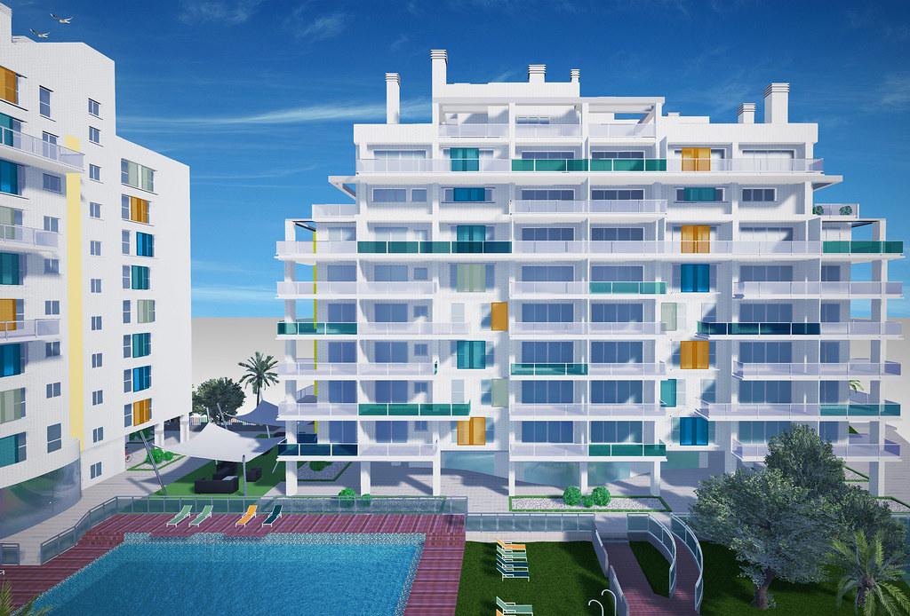 Seacolors pisos en playa de san juan alicante for Pisos en san juan de alicante