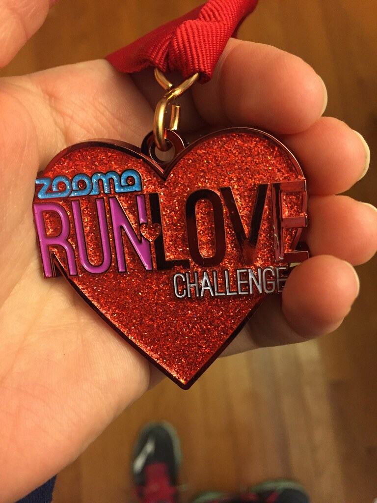 run love challenge medal