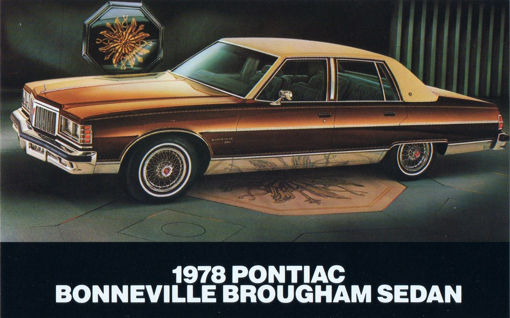 1978 pontiac bonneville brougham sedan alden jewell flickr. Black Bedroom Furniture Sets. Home Design Ideas