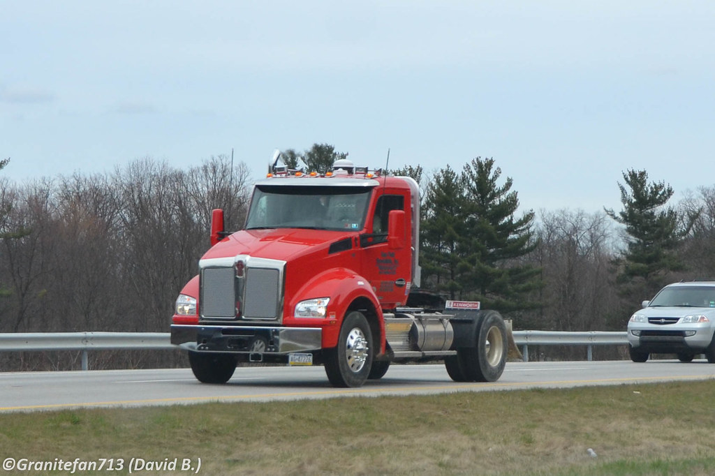 Kenworth T880 Single A...