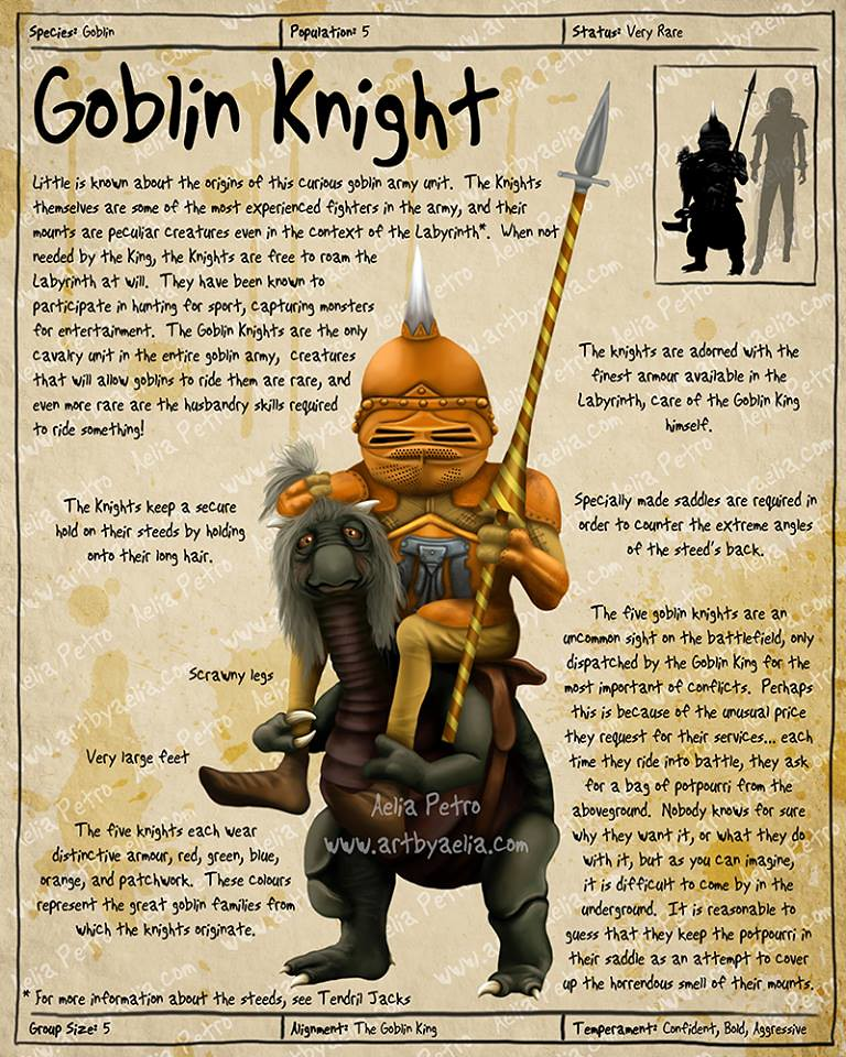 Practical Visitor's Guide to the Labyrinth by Aelia Petro - Goblin Knight