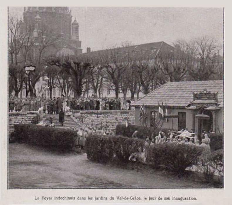 1927 le foyer indochinois dans les jardins du val de gr - Les jardins du val de moselle ...