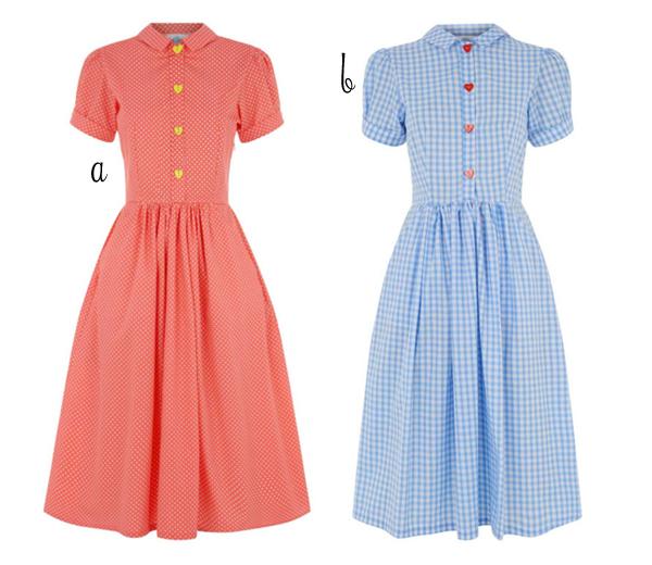 tara starlet gingham dresses
