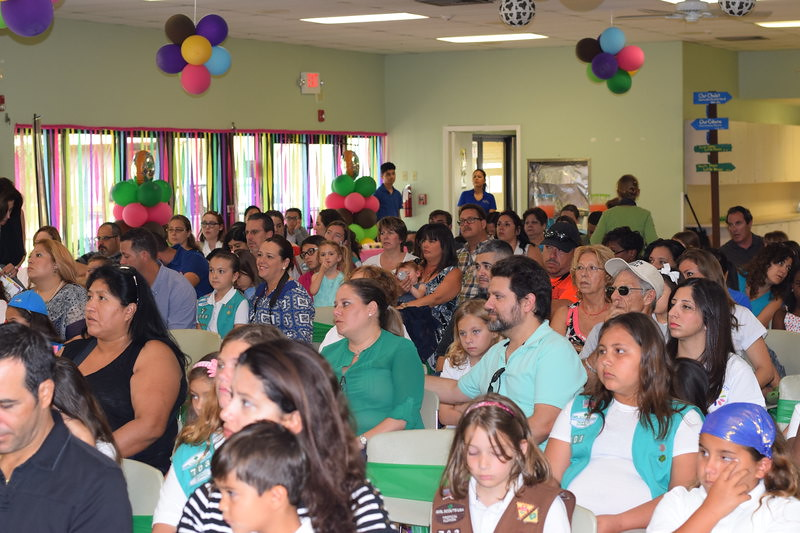 girl scouts of tropical florida 2016 cookie award celebr