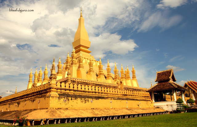 Wat Pha That Luang Vientiane Laos