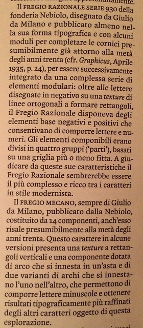 From the Article by Luciano Perondi in TipoItalia 3