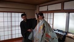 20160305 Noh Workshop @ Oubikai by Hasegawa-sensei of Umewaka Kennohkai