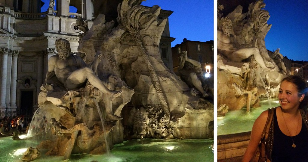 Piazza Navona, Rome | via It's Travel O'Clock