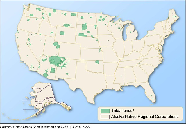 Usa Opportunity For Energy Infrastructure Deployment On Tribal Lands - Map-of-indian-lands-in-the-us