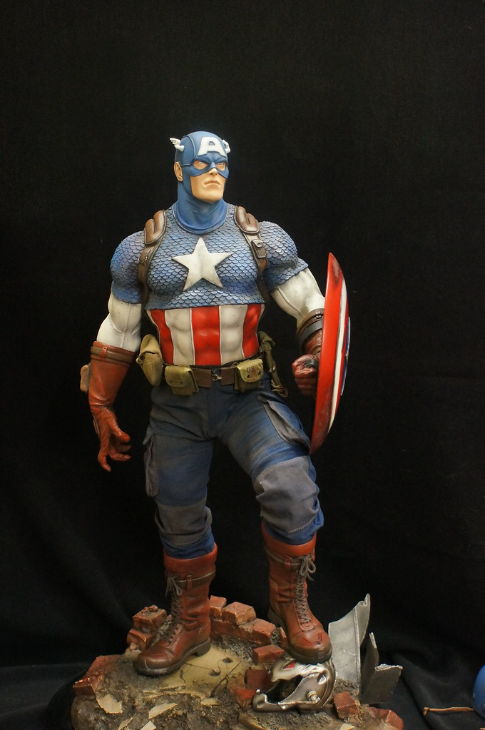 Custom Captain America Premium Format  25441858031_1e2f3b314d_b