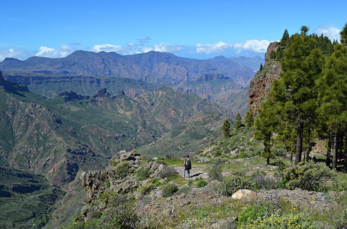 Looking over the Tejeda Valley, Gran Canaria