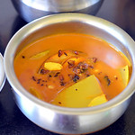 Raw Mango Vatha Kuzhambu Recipe