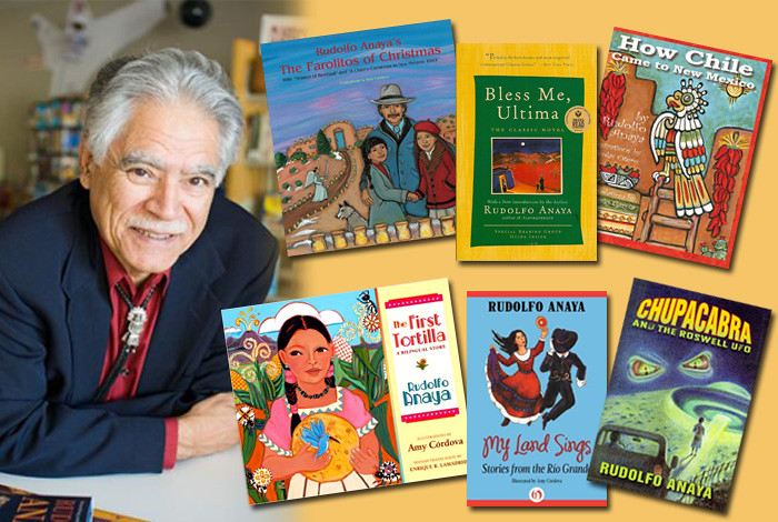 Rudolfo Anaya's first children's book was The Farolitos of Christmas, published in 1995. Put it on your child's summer reading list as part of the Rudolfo Anaya Summer Reading Program.