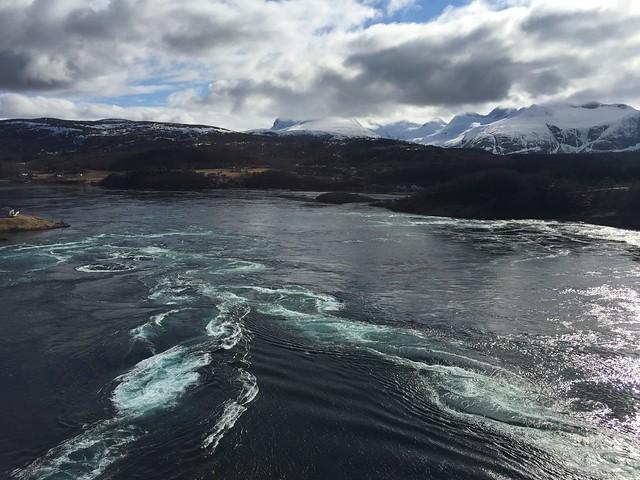 Estrecho de Saltstraumen (Laponia Noruega)