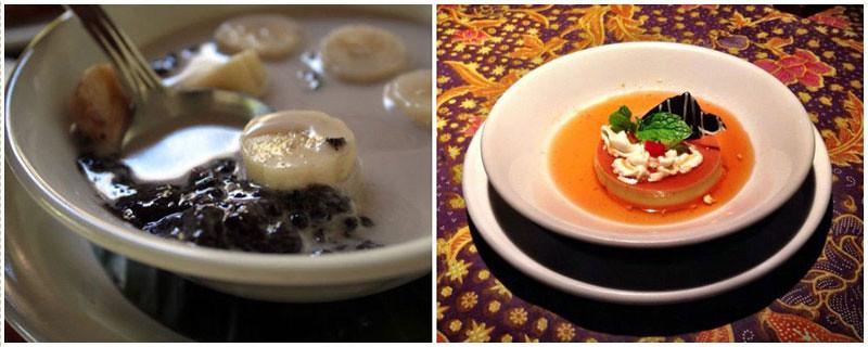 11-creme-caramel,-black-rice-pudding