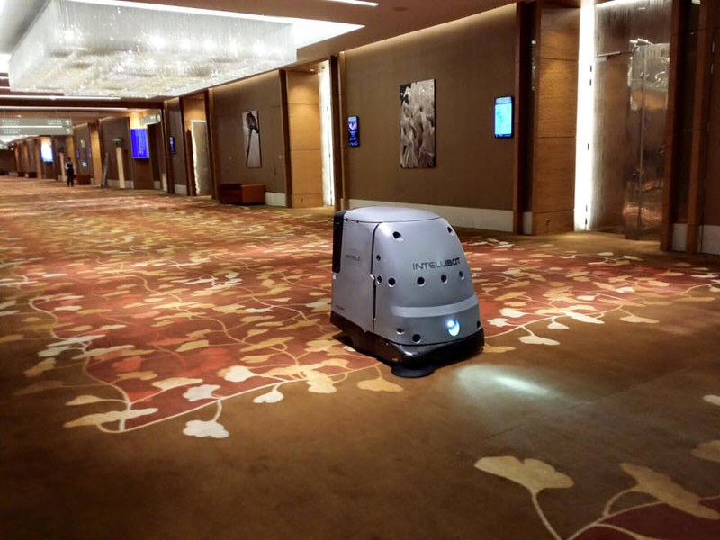 Robot cleaners commissioned by government
