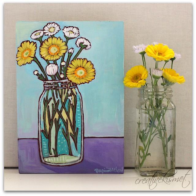 Little Flowers - Art by Regina Lord