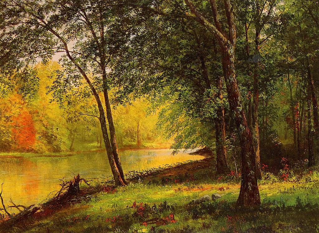 Merced River, California by , (1830 - 1902)