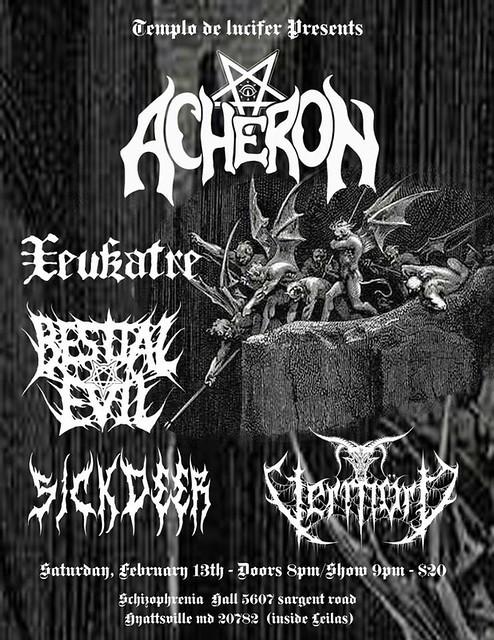 Acheron at Schizophrenia Hall