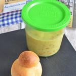 Hafer-Grünkernsuppe