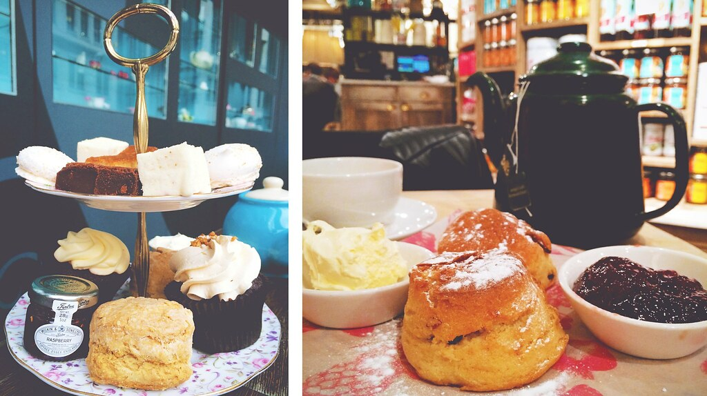 Afternoon tea at Bea's of Bloomsbury and Bill's in London | via It's Travel O'Clock