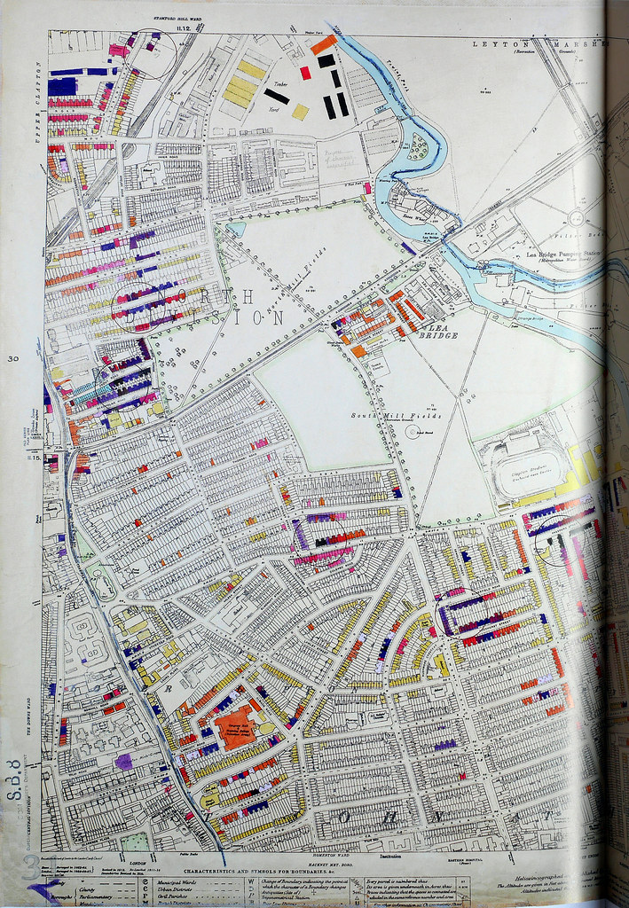 London County Council Bomb Damage Map Lower Cl Flickr - London map 1945
