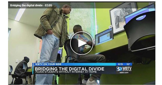Bridging the digital divide - WBTV news clip